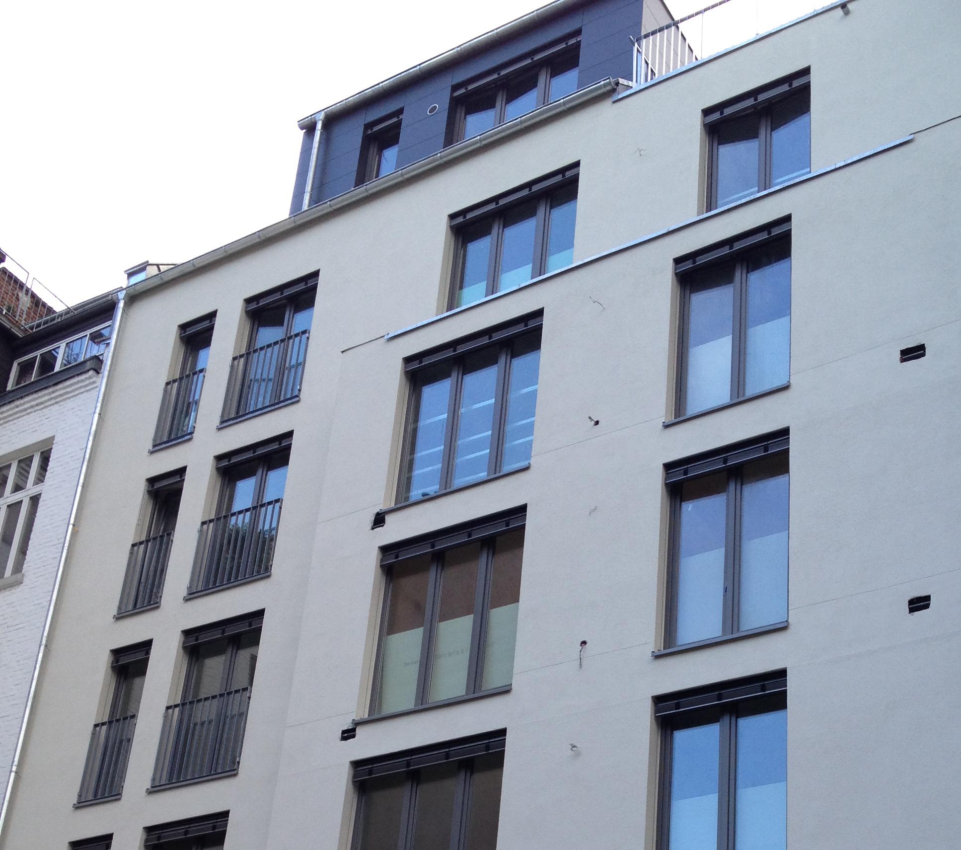 Fensterkonstruktionviereck