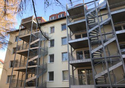 Brunkensteinstraße Balkonanlage
