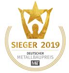 Siegel Deutsche Metallbaupreis