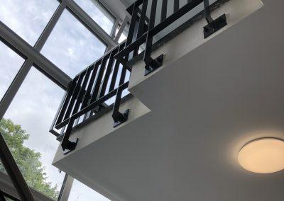 Treppengeländer innenliegend